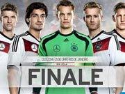 德国队发布决赛海报 众将齐心誓添第四星