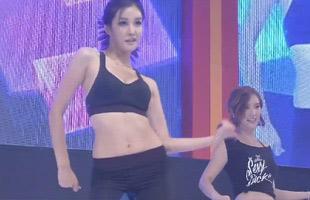 韩国美背小姐大赛 第三轮热辣show