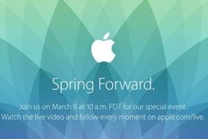 苹果2015春季发布会
