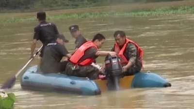 暴雨突袭广州来宾 股市火热提防诈骗