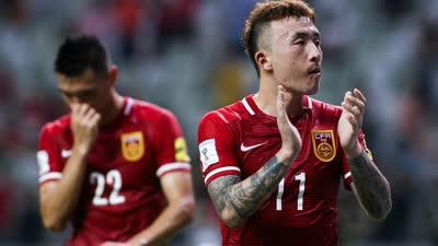 世预赛-中国0-0中国香港 国足4中框对手逃点球