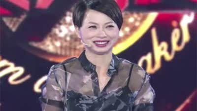 刘玉翠泪洒舞台 张卫健贴心递纸巾