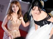 第36届韩国青龙奖红毯 女星齐秀事业线