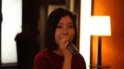 游轮浪漫之旅韩国行(3) 卡拉OK开放厅温柔一曲