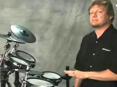 罗兰电爵士鼓教学视频 9