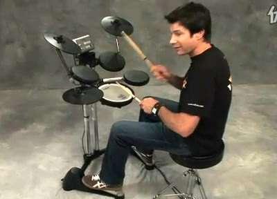 罗兰电爵士鼓教学视频 11