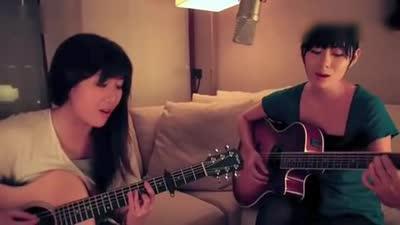 姐妹花吉他弹唱-怎么舍得你