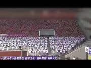 济南4500名考研生共跳《小苹果》