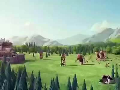 部落冲突广告-神奇的法师[youtube转载]