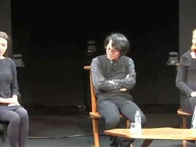 日本专家展示超逼真的美女机器人
