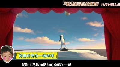 《马达加斯加的企鹅》杨阳洋变鹅精病 曝新预告