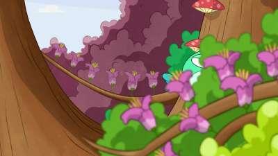 快乐梦多多19 唤醒沉睡的彩霞树