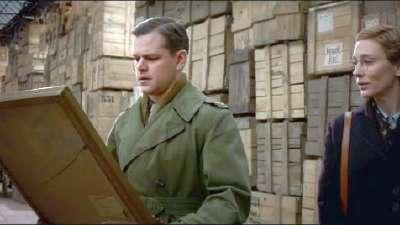 《盟军夺宝队》新曝预告 克鲁尼率老帮伙为艺术献身