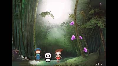 音乐熊猫故事第4集《竹林的声音》