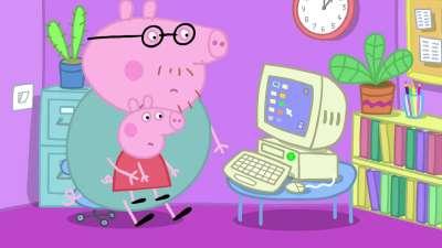 粉红猪小妹07 猪妈妈在工作