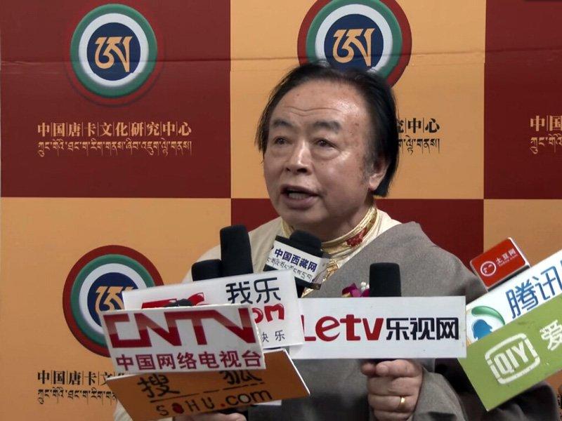 康·格桑益西:首次发行书籍整理藏族文化