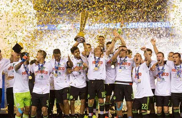 瓜尔达多凌空斩 墨西哥3-1牙买加夺金杯赛第七冠