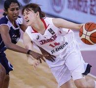 日本女篮131-31狂胜印度