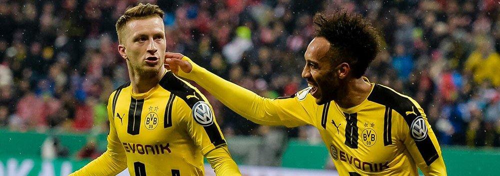 德国杯-多特3-2淘汰拜仁进决赛