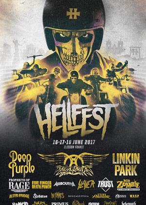 2017法国Hellfest金属音乐节