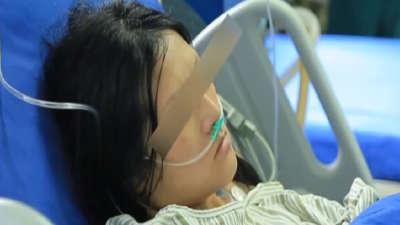 怀孕35周罹患凶险疾病 准妈妈接受超级手术