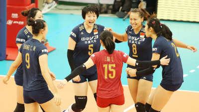 女排世界杯中国3-0多米尼加 取第8胜留冲冠希望