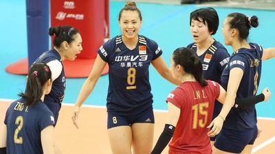 世界杯中国女排3-1胜日本 12年后重夺冠军