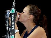 WTA年终总决赛决赛 A拉德万斯卡VS科维托娃(英文)20151101