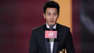 刘恺威获得最具人气港台演员