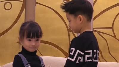 """王子初见艾米显羞涩 """"大可爱小可爱""""萌翻众人"""