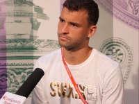 乐视网球专访迪米特洛夫 温网或帮助自己摆脱颓势