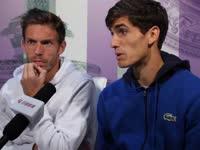 乐视网球专访双打世界第一 马胡赫伯特全心冲冠