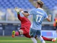 意甲-因莫比莱补时点球救主 拉齐奥1-1博洛尼亚