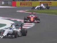 F1墨西哥站正赛维特尔TR吐槽马萨:一直挡我好蠢啊!