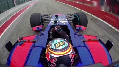 小红牛车队2017新车正式起航 新车性能赛道测试中