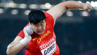 巩立姣:赢在自信终圆金牌梦 期待未来能拿奥运金牌