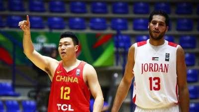亚洲杯-胡金秋14分李根11分 中国男篮大胜约旦