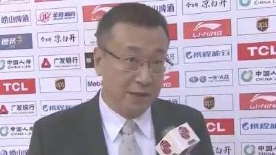 范斌:成功限制对方内线发挥 篮板反击成取胜之匙