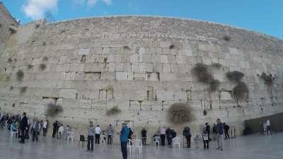 延时|耶路撒冷哭墙 LETS成员感受最接近上帝的地方