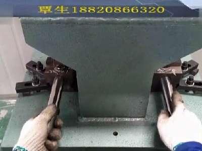 圆管方管冲孔机不锈钢管冲弧机开模具自动冲弧