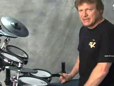 罗兰电爵士鼓教学视频 12
