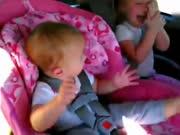 当睡着的宝宝听到江南style-超级搞笑