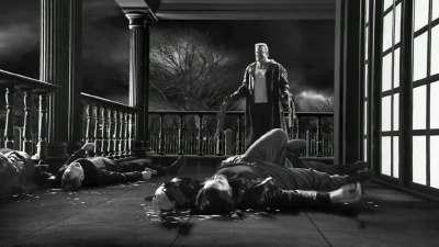 《罪恶之城2》 片段之Marv Kills