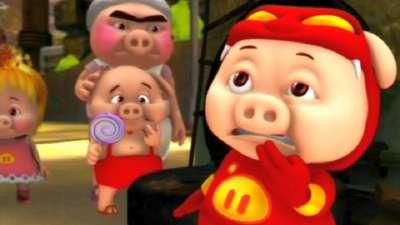 猪猪侠可乐吧22降龙十八掌