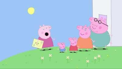 粉红猪小妹24 寻宝