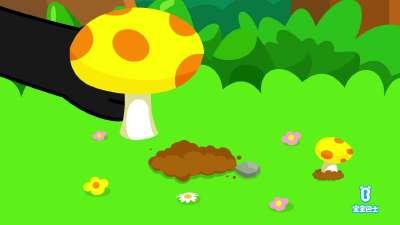 采蘑菇的小姑娘 宝宝巴士儿歌