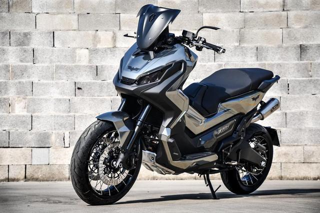 本田跨界摩托车X-ADV全面改装