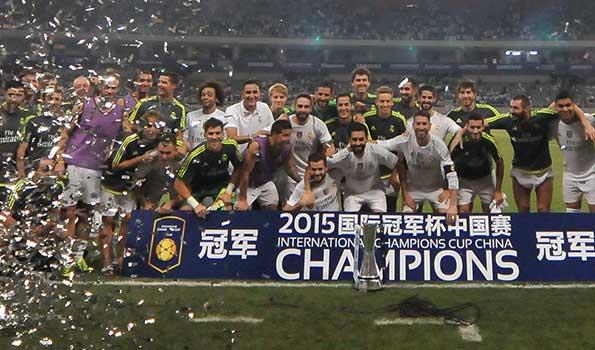 皇马10-9米兰赢超长点球大战 连夺2站国际冠军杯冠军