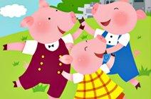 洪恩三只小猪进阶英语