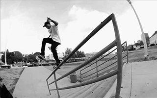 天才滑手Ishod 与滑板相伴而生